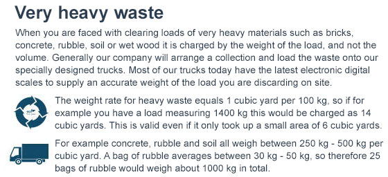 Dispose of Heavy Waste in Belgravia